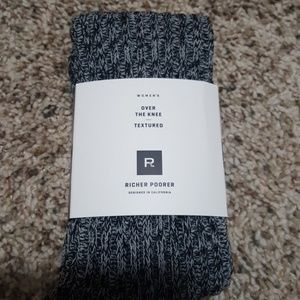 Accessories - Brand new over the knee socks